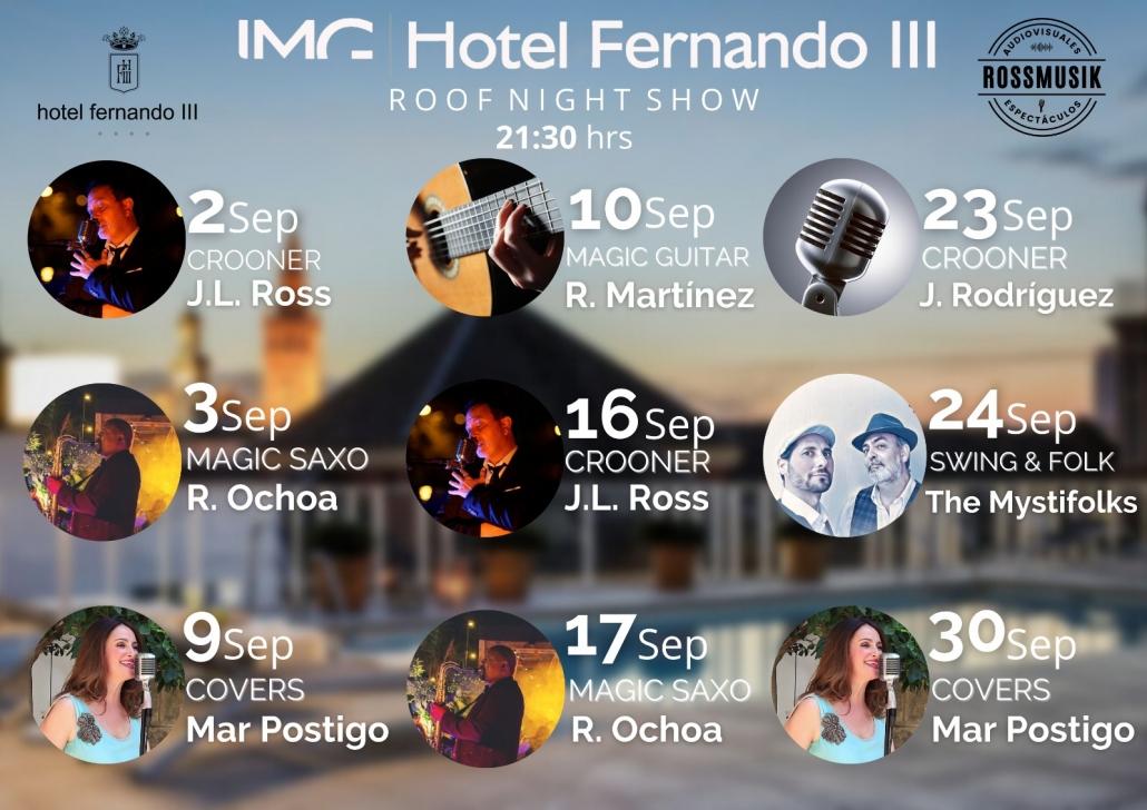 música en directo en Sevilla